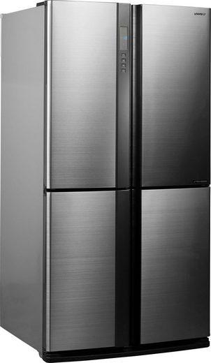 Sharp Multi Door SJ-EX770F, 172 cm hoch, 89,2 cm breit