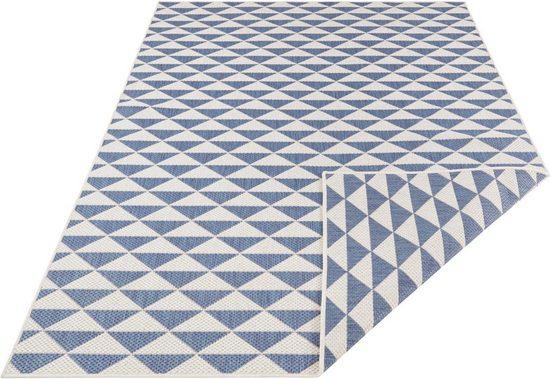Teppich »Tahiti«, bougari, rechteckig, Höhe 5 mm, In- und Outdoor geeignet, Wendeteppich