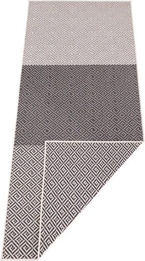 Läufer »Borneo«, bougari, rechteckig, Höhe 5 mm, In- und Outdoor geeignet, Wendeteppich