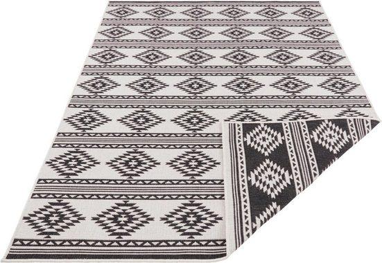 Teppich »Maple«, freundin Home Collection, rechteckig, Höhe 5 mm, In- und Outdoor geeignet, Wendeteppich, Wohnzimmer