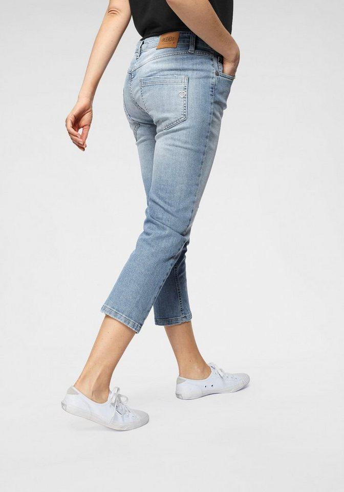 ostaa paras paikka saada verkkoon Please Jeans 7/8-Jeans »P36« stylische 7/8 Jeans in Used-Waschung und  sichtbarer Knopfleiste online kaufen   OTTO