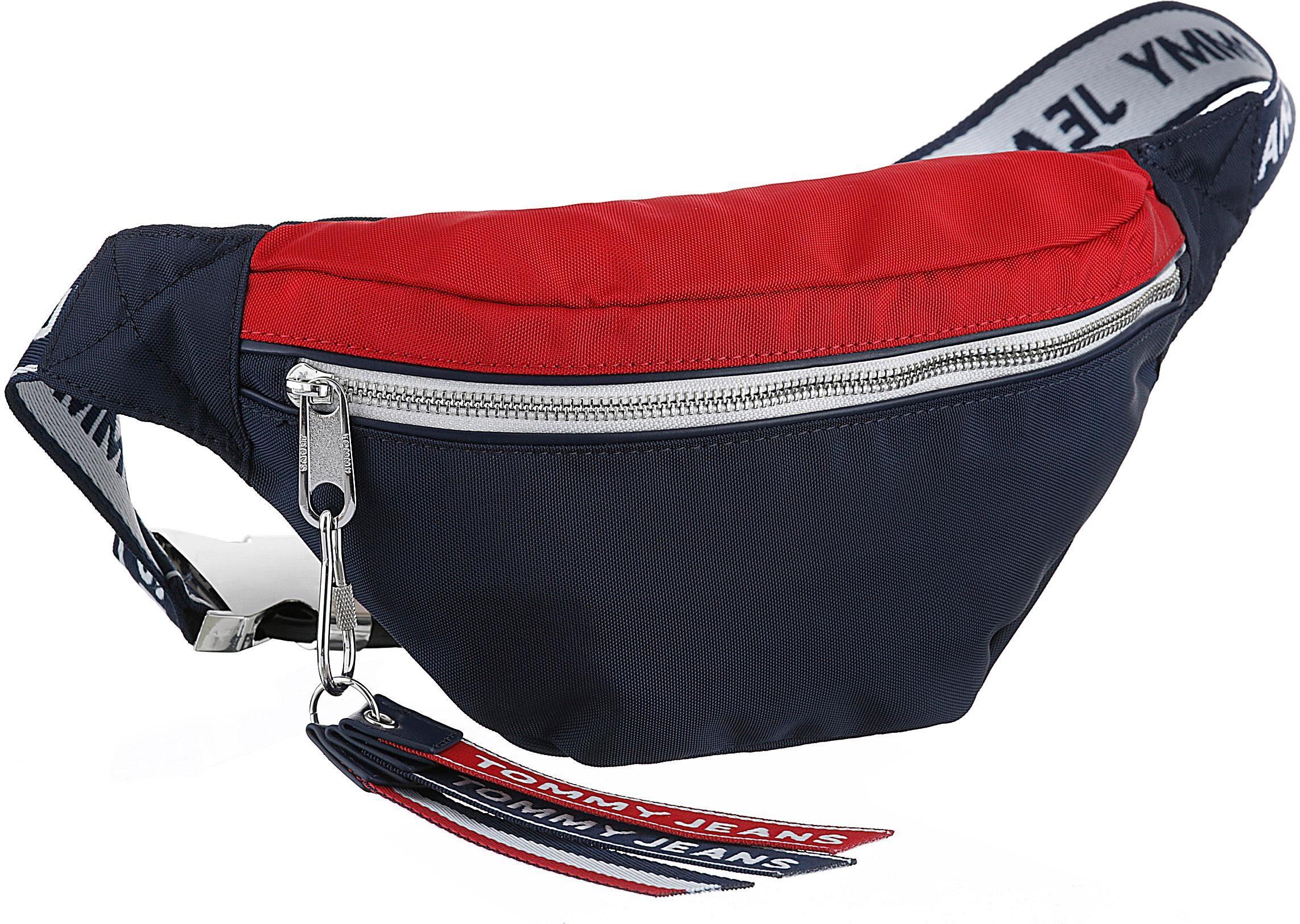 Auch Tommy Crossbody Jeans Kann Bumbag« »tju Werden Gürteltasche Bag Getragen Als Tape Logo xp46RqHUp