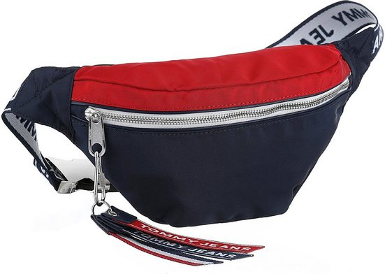 Werden Gürteltasche Tommy Als Tape Kann Crossbody Auch Bag Getragen Jeans Logo »tju Bumbag« OOxw7raq