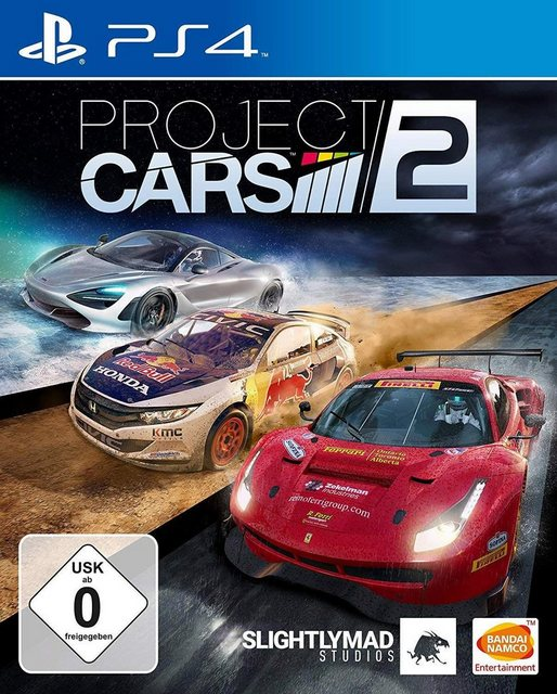 Project Cars 2 PlayStation 4, Software Pyramide