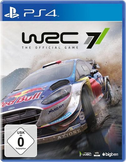 WRC 7 PlayStation 4, Software Pyramide