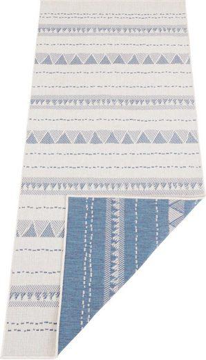 Läufer »Bahamas«, bougari, rechteckig, Höhe 5 mm, In- und Outdoor geeignet, Wendeteppich