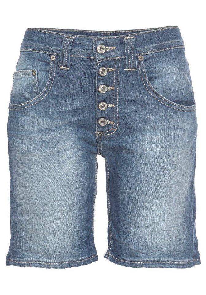 9da84e40499d Please Jeans Jeansshorts »P88A« lässige Boyfriendshorts mit sichtbarer  Knopfleiste und krempelbarem Bein online kaufen   OTTO