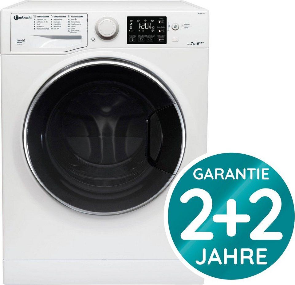BAUKNECHT Waschmaschine WM STEAM 7 100 Kg 1400 U Min 4