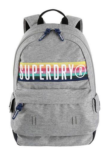 Großen Band Schriftzug »retro Montana« Mit Cityrucksack Superdry Logo qPX0RR