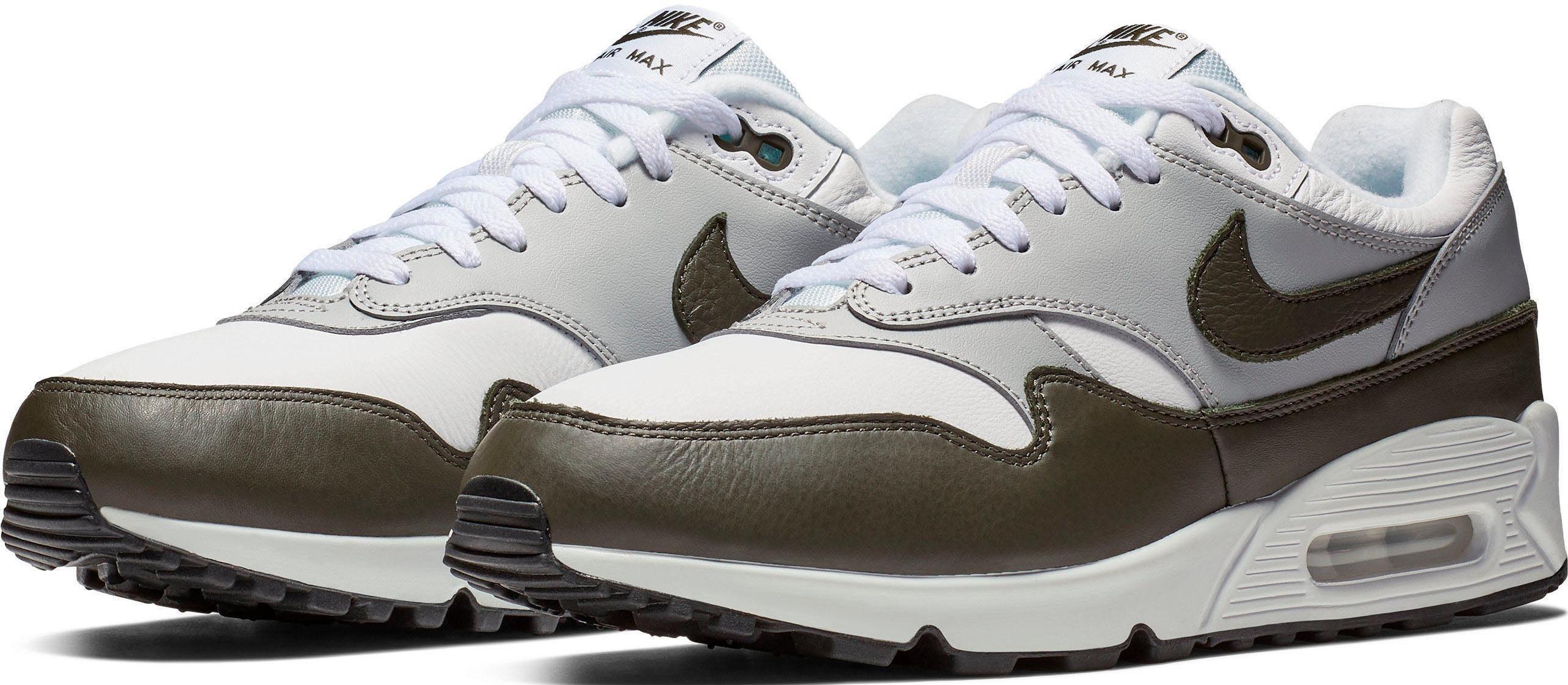 Nike Herren WEISS Sneaker AIR MAX VISION Hochwertiges Textil