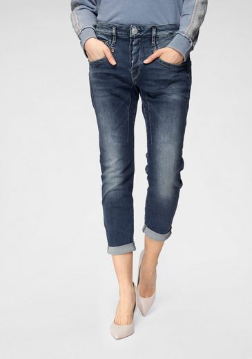 Herrlicher Boyfriend-Jeans »SHYRA CROPPED« High Waist Powerstretch