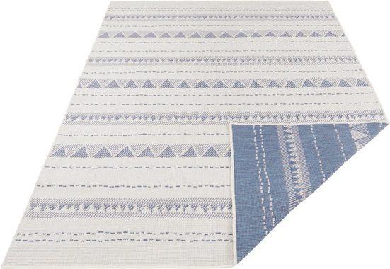 Teppich »Bahamas«, bougari, rechteckig, Höhe 5 mm, In- und Outdoor geeignet, Wendeteppich