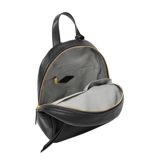 Minirucksack »megan Reißverschluss Rückfach Mit Mini Fossil Backpack« gq5Hnd