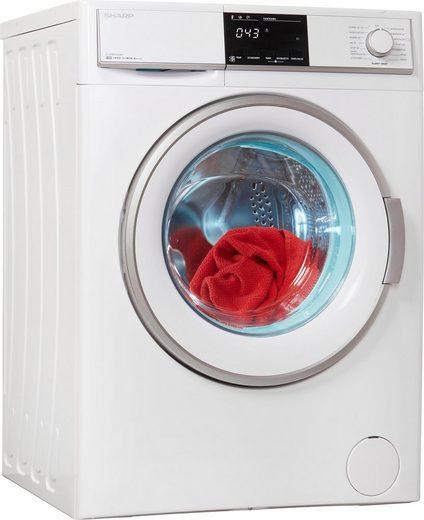 Sharp Waschmaschine ES-HFB9143W3-DE, 9 kg, 1400 U/Min