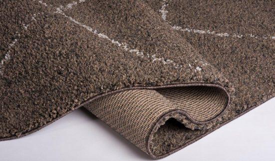 Hochflor-Teppich »Donna«  GALLERY M  rechteckig  Höhe 30 mm