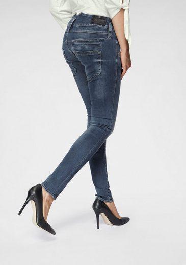 Herrlicher Slim-fit-Jeans »PITCH SLIM« Low Waist Powerstretch