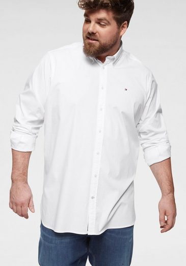 Tommy Hilfiger Big & Tall Langarmhemd »Big & Tall STRETCH POPLIN SHIRT«