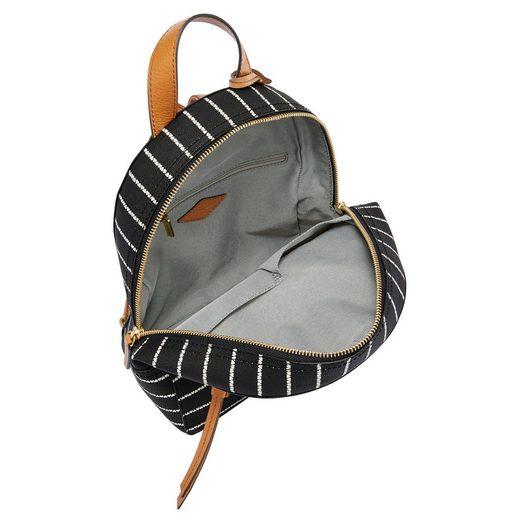 rückfach Mini »megan Minirucksack Mit Backpack« Fossil Reißverschluss SYnHAqpnw