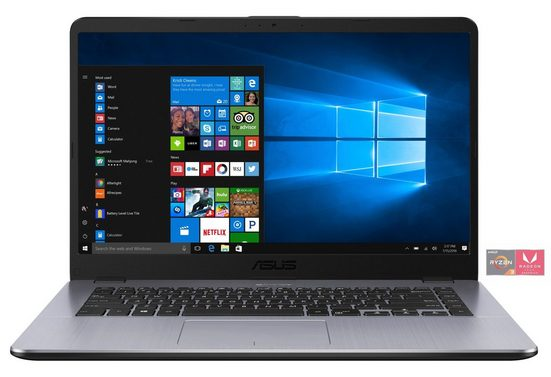 "ASUS VivoBook F505ZA-EJ463T Notebook »39,6 cm (15,6"")AMD R3,256 GB, 8 GB«"