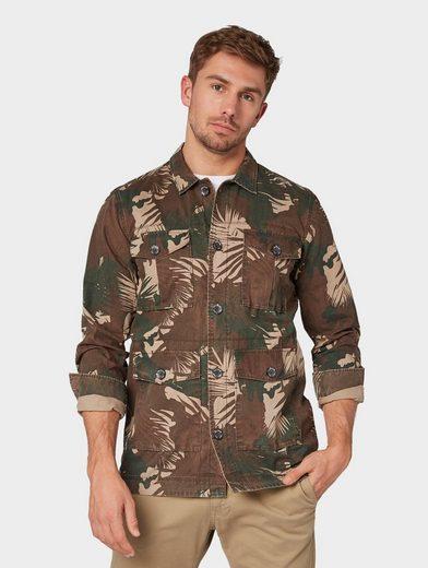 TOM TAILOR Hemd »Leichte Jacke im Military Look«