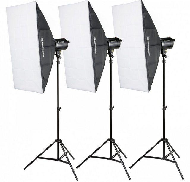 Blitzgeräte - BRESSER Fotostudio »BRM 300AM Studioblitzset 3x 300W«  - Onlineshop OTTO