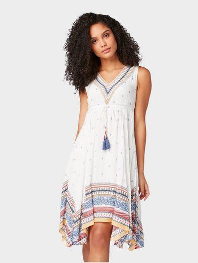 TOM TAILOR Sommerkleid »Kleid mit Allover-Muster«   OTTO