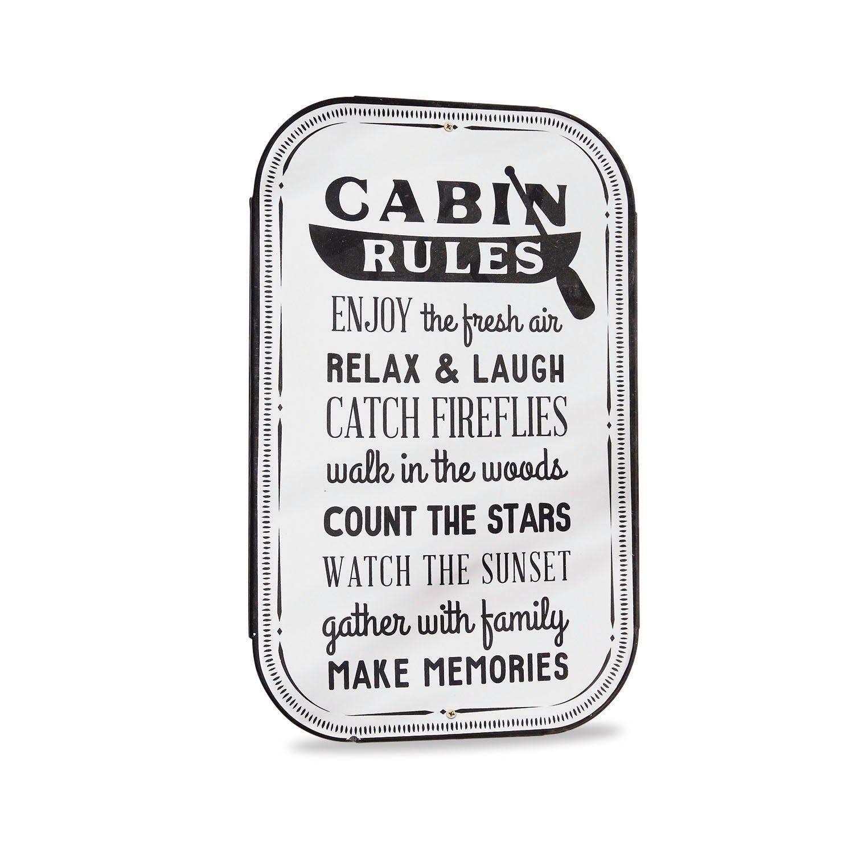 Loberon Deko-Schild »Cabin«