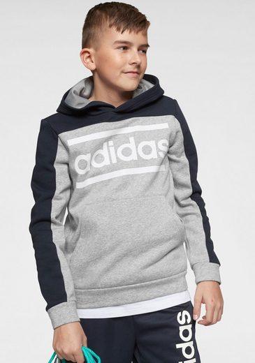 adidas Kapuzensweatshirt »ONE SERIES BOYS LINE COLORBLOCK HOODY«