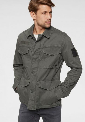 Strellson Fieldjacket »Hunter« ungefüttert