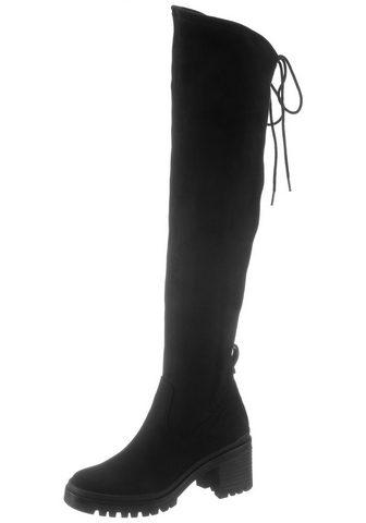 TAMARIS Ilgaauliai batai virš kelių »Marielle«...