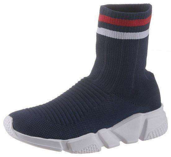 CITY WALK Slip-On Sneaker im Sockboot-Style