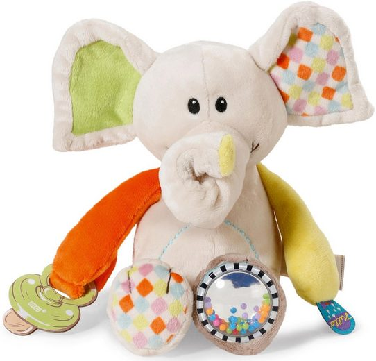 Nici Kuscheltier »My First Nici, Activity Elefant Dundi, 23 cm«