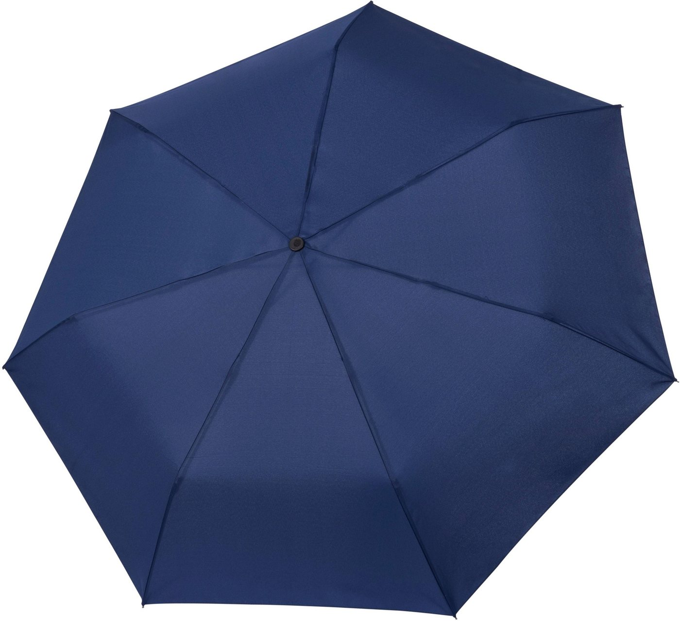 Regenschirme - Tamaris Taschenregenschirm »Tambrella, blue«, mit Metallic Elementen am Schirmdach ›  - Onlineshop OTTO