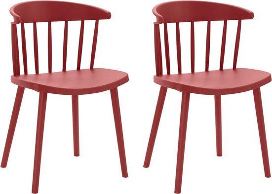 INOSIGN Stuhl »Graz« in vier trendigen Farbvarianten, aus Kunststoff, Sitzhöhe 43 cm