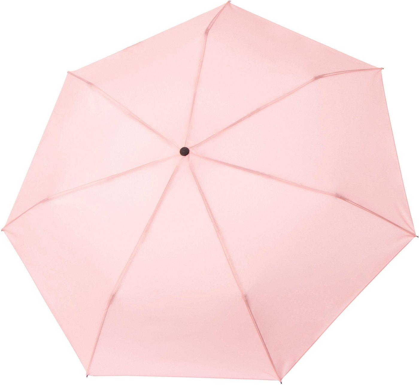 Regenschirme - Tamaris Taschenregenschirm »Tambrella, rose«, mit Metallic Elementen am Schirmdach ›  - Onlineshop OTTO