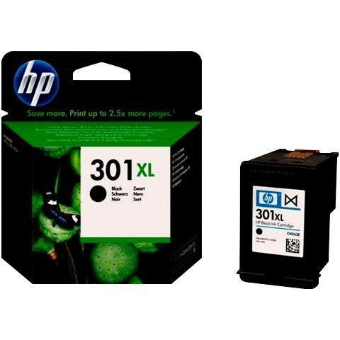HP »hp NR.301XL, original, CH563EE, schwarz« Tintenpatrone
