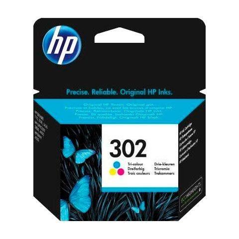 HP »hp 302 color (c/m/y) F6U65AE, original, Multipack« Tintenpatrone