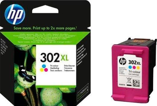 Druckerpatronen, Toner - HP »302XL, original, F6U67AE, color (c m y)« Tintenpatrone  - Onlineshop OTTO