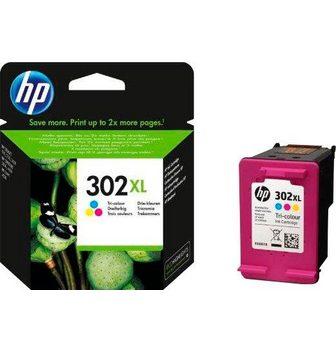 HP »302XL original F6U67AE color (c/m/y)«...
