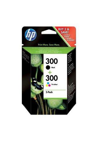 HP »300 Original Kombi-Pack juoda spalva ...