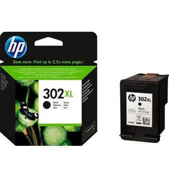 HP »302XL Original juoda spalva F6U68AE« ...