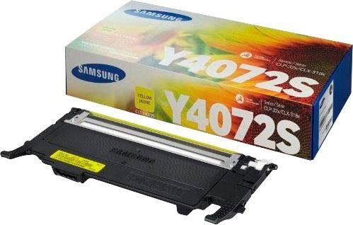 Samsung Tonerpatrone »CLT-Y4072S, original, SU472A gelb«