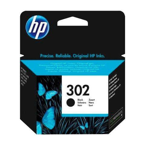 HP »hp 302, original, F6U66AE, schwarz« Tintenpatrone