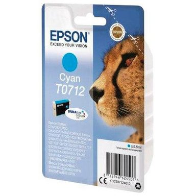 Epson »T0712 Original Cyan C13T07124012« Tintenpatrone
