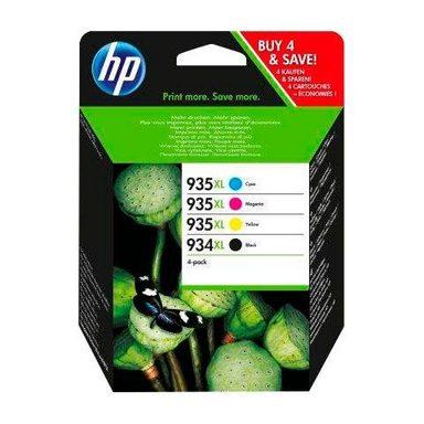 HP »934XL/935XL - X4E14AE - original, Multipack (black/magenta/cyan/yellow)« Tintenpatrone