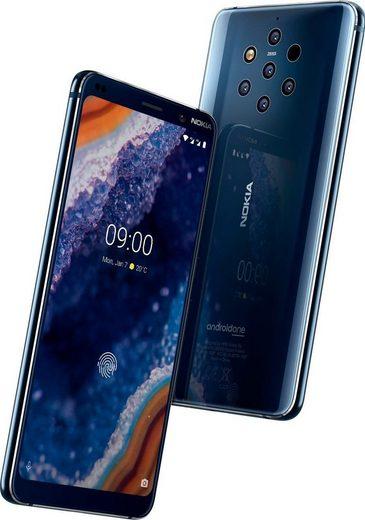 Nokia 9 PureView - Dual SIM Smartphone (15,21 cm/5,99 Zoll, 128 GB Speicherplatz, 12 MP Kamera)
