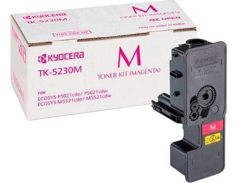 Kyocera Tonerpatrone »Kyocera Toner TK-5230M, original, 1T02R9BNL0, magenta«