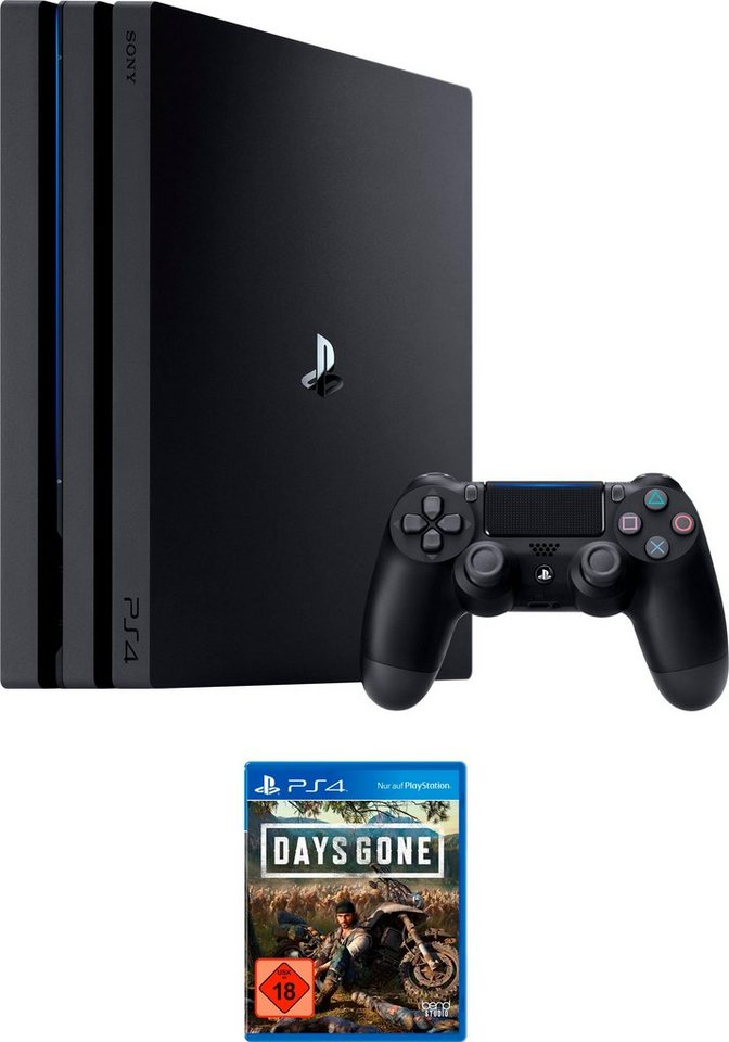 playstation 4 pro ps4 pro 1tb bundle inkl days gone. Black Bedroom Furniture Sets. Home Design Ideas