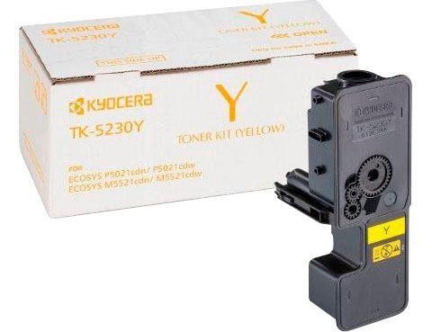 Kyocera Tonerpatrone »TK-5230Y, original, 1T02R9ANL0, gelb«