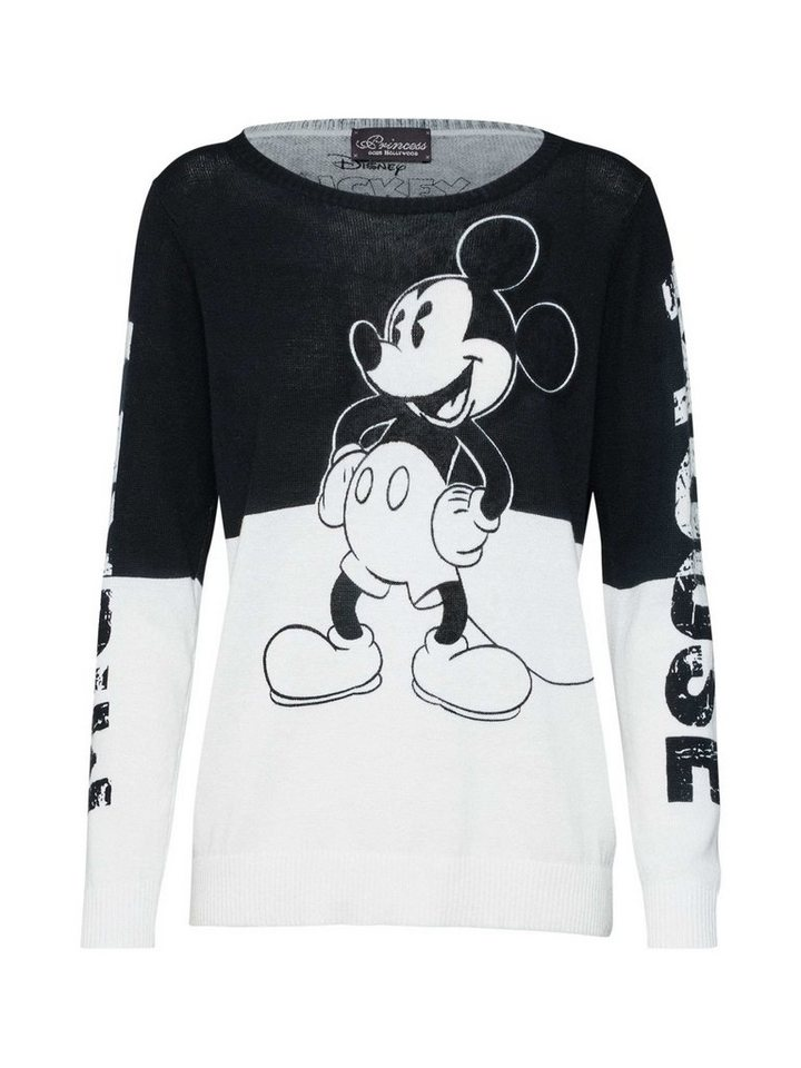 7655698cff8cb7 Princess goes Hollywood Rundhalspullover »Mickey black printed ...
